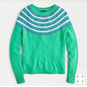 Jcrew cashmere sweater, XS